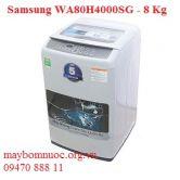 Máy giặt cửa trên Samsung WA80H4000SG 8kg