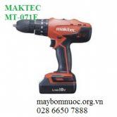 Máy khoan vặn vít dùng pin MAKTEC MT071E