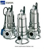 Máy bơm chìm hút bùn Inox Ebara nhập khẩu DW VOX 150A