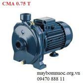 Máy bơm ly tâm trục ngang đầu gang Ebara CMA 0.75 T