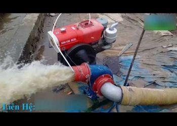 Máy bơm nước chạy dầu đầu nổ D15 cực khỏe