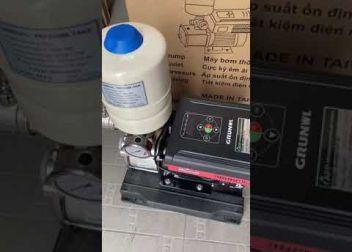 Máy bơm tăng áp biến tần chính hãng App Model: Booster HVF-54 (Taiwan nhập khẩu)