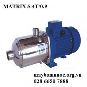 Máy bơm ly tâm trục ngang đầu Inox Ebara Matrix 5-4T/0.9