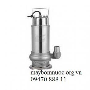 Máy bơm chìm nước sạch cao cấp toàn thân Inox QDX 3-18 (có phao)