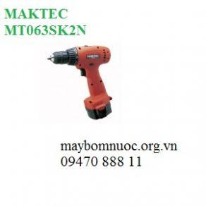 Máy khoan vặn vít dùng pin MAKTEC MT063SK2N