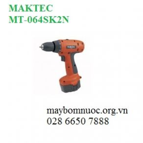 Máy khoan vặn vít dùng pin MAKTEC MT064SK2N