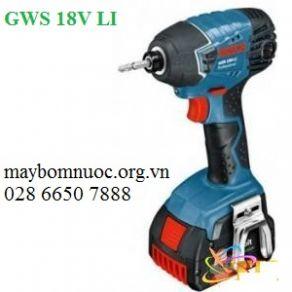 Máy vặn vít động lực dùng pin BOSCH GWS 18V-LI