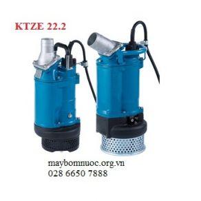 Bơm chìm nước thải xây dựng Tsurumi KTZE222