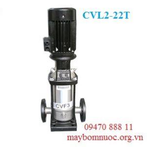 Máy bơm nươc nóng trục đứng Ewara CVL 2-22T