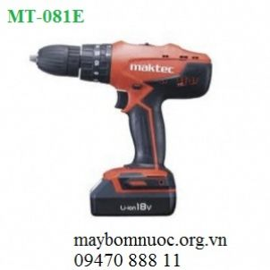 Máy khoan vặn vít dùng pin MAKTEC MT081E