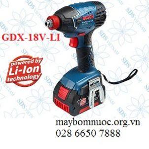 Máy vặn vít động lực dùng pin BOSCH GDX 18V LI