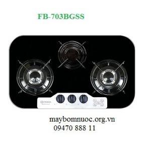 Bếp gas cao cấp Faber 3 bếp âm FB703BGSS