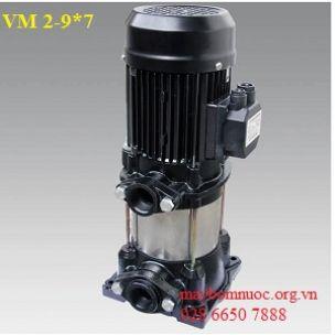 Máy bơm trục đứng Ewara VM 2-9*7