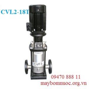 Máy bơm nước nóng trục đứng Ewara CVL 2-18T