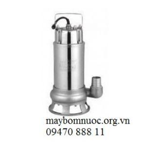Máy bơm chìm nước thải cao cấp thân Inox WQD 7-7 (có phao)