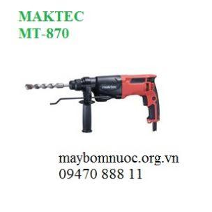 Máy khoan búa MAKTEC MT870