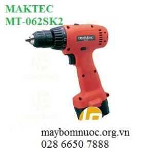 Máy khoan vặn vít dùng pin MAKTEC MT062SK2