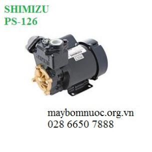 Máy bơm đẩy cao SHIMIZU PS-126 (Japan)