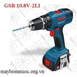 Máy khoan vặn vít dùng pin  BOSCH GSR 10 8V-2LI