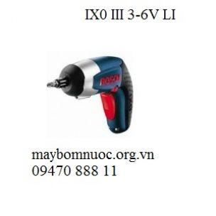 Máy khoan vặn vít BOSCH IXO III 3 6V-LI