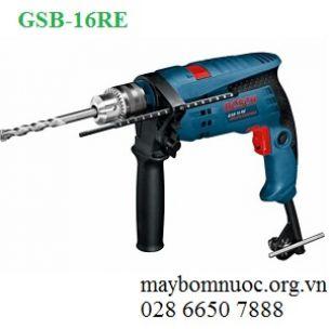 Máy khoan động lực BOSCH GSB 16RE (hộp nhựa)