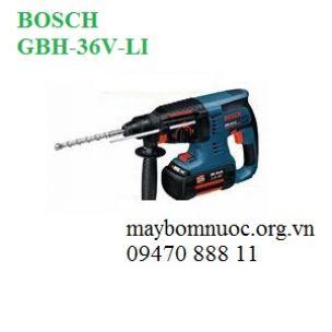 Máy khoan búa dùng pin BOSCH GBH 36V-LI