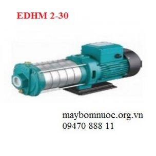 Máy bơm nước đẩy cao trục ngang đầu inox EDHM 2-30