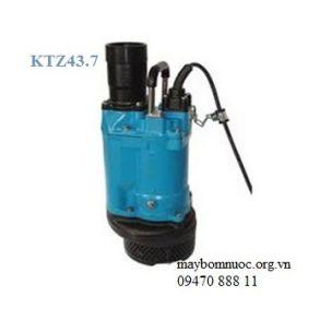 Máy bơm chìm hút nước thài KTZ 43-7 (Japan)
